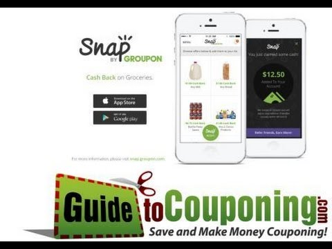 Snap by Groupon App Review - Couponing App Review - GuideToCouponing - Guide to Couponing