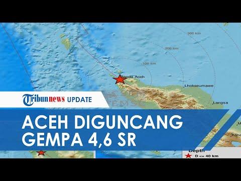 BREAKING NEWS Banda Aceh, Aceh Besar, dan Sabang Diguncang Gempa 4,6 SR