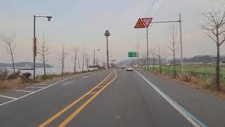 오산시 비행장교차로에서 마산네거리  1톤 트러커 tru…