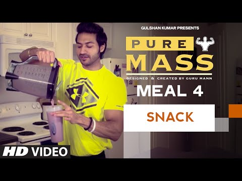 meal-4--mass-gainer-shake-|-guru-mann-'pure-mass'-program-|-health-and-fitness