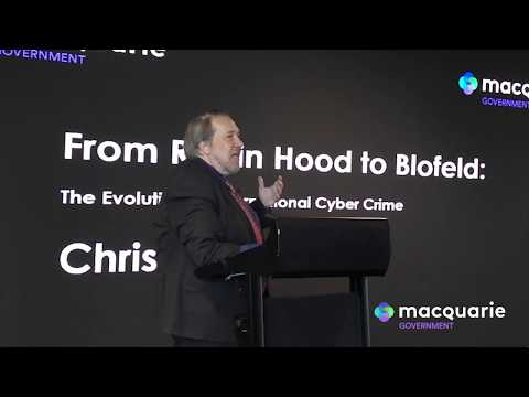 Cyber Security Whole of Government Issue - Chris Painter Presentation