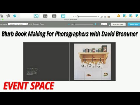 Blurb Book Making For Photographers | David Brommer
