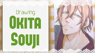 |Drawing Okita Souji (沖田 総司) from Hakuoki |