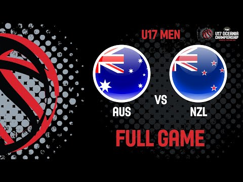 Australia V New Zealand - Full Game - FIBA U17 Oceania Championships 2019