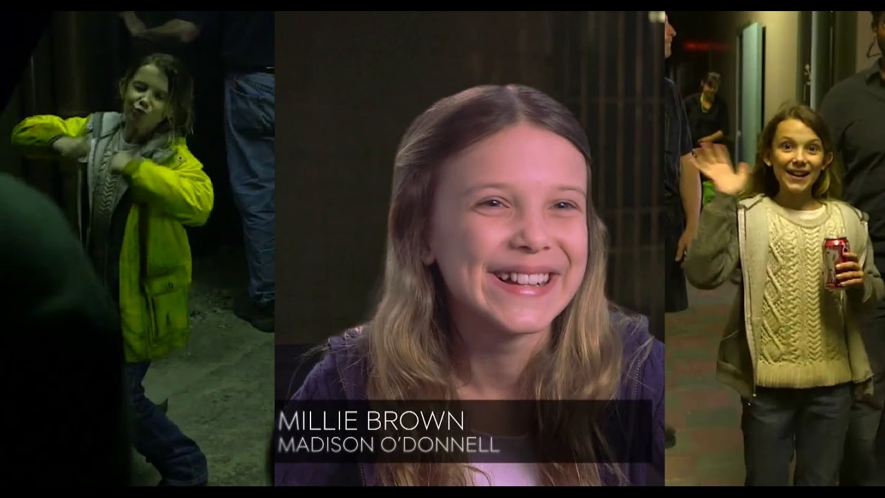 Download Millie Bobby Brown interview about her accents + Intruders cast on her acting skills
