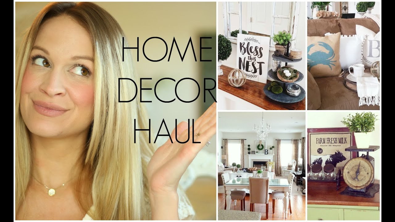 Wonderful HUGE HOME DECOR HAUL | Hobby Lobby, Home Goods, Target U0026 Kirklands!    YouTube