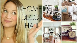 Huge Home Decor Haul | Hobby Lobby, Home Goods, Target, Globein & More!