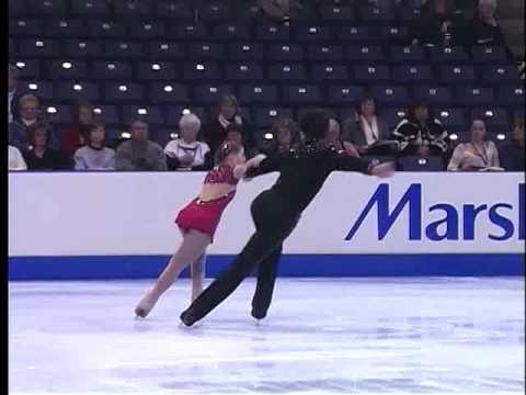 2007 Nationals Novice Pairs FS - Emily Glassberg & Kurt Weiss