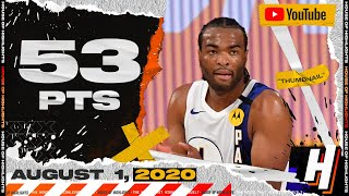 <b>T.J. Warren</b> EPIC 53 Points Full Highlights | 76ers vs Pacers | August ...