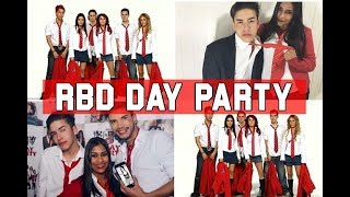 O QUE ROLOU NA RBD DAY PARTY?