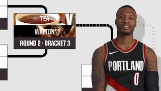 Damian Lillard Does the Ultimate Bracket Challenge