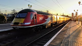 Trains at York, ECML   28/01/2019