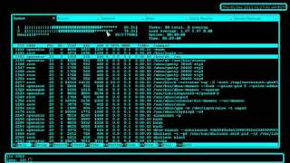 Gnome terminal as a Desktop Environment User Interface