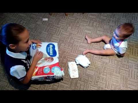 видео: Тест : какие памперсы лучше.