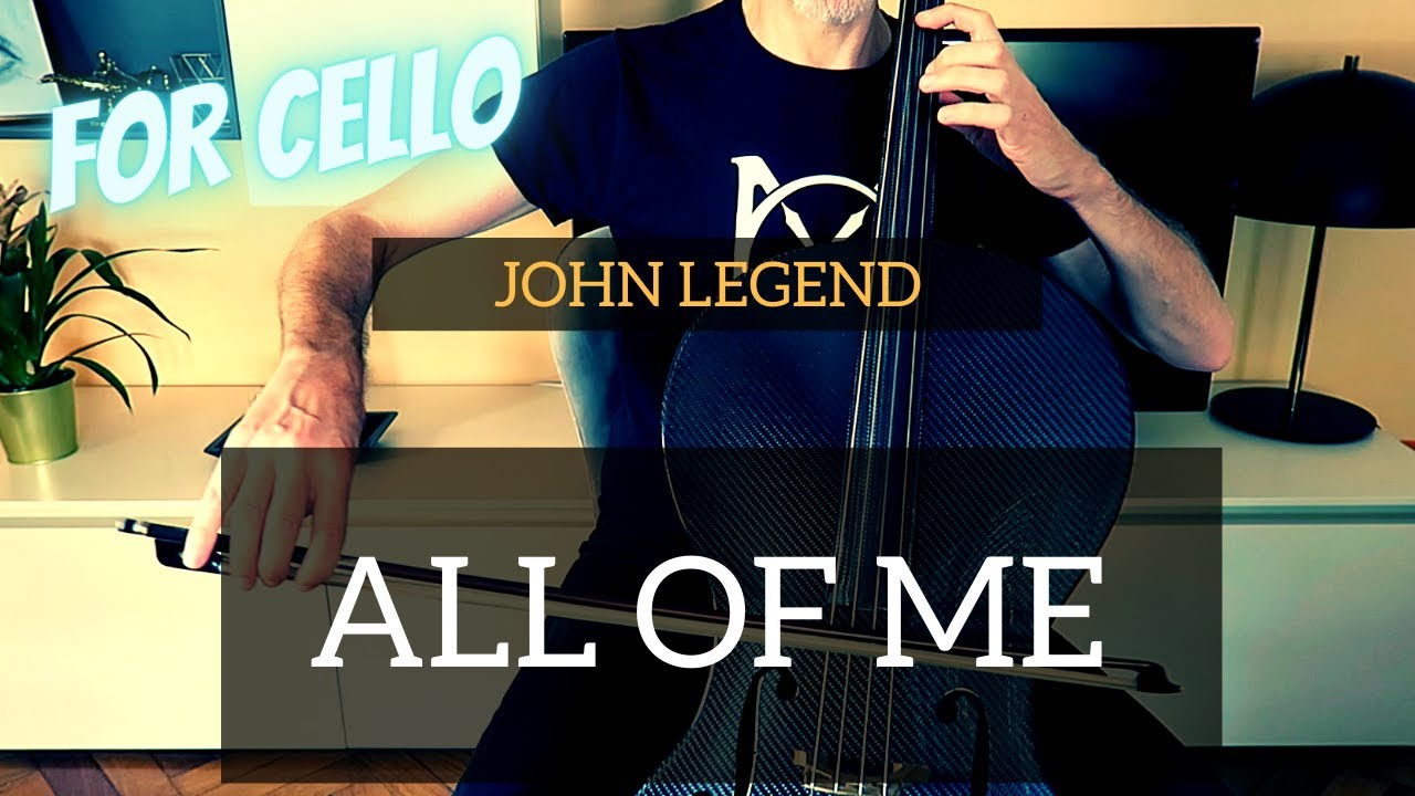 John Legend - All of me for cello (COVER)