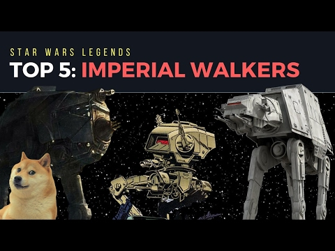 5 Strongest Imperial Walkers | Star Wars Legends + Expanded Universe