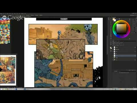[RECORDED] Live Photoshop coloring demo with colorist K Michael Russell