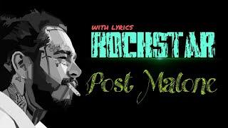 Post Malone - Rockstar ( with lyrics ) ll Download song 👇 ll