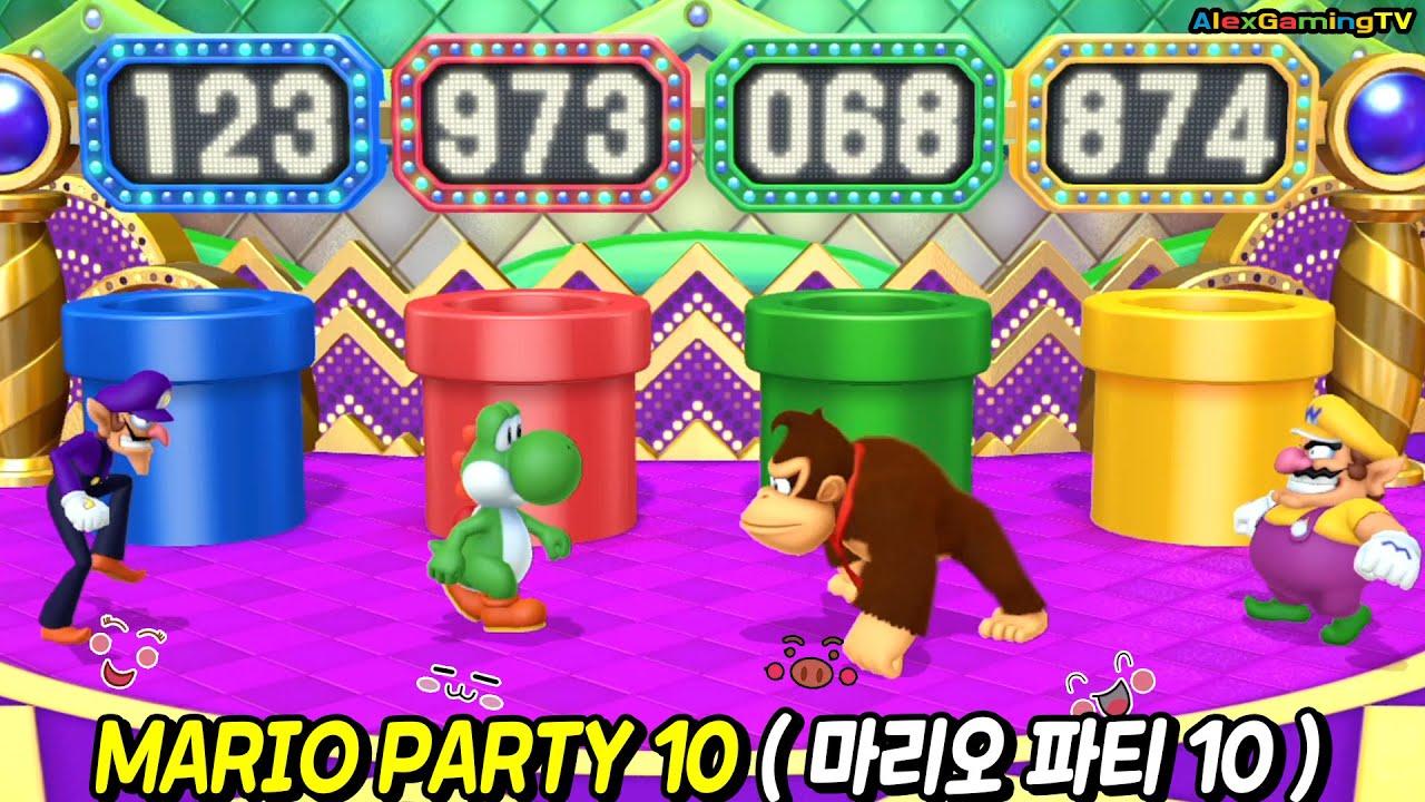 [Wii U] Mario Party 10 ( Mario Party  #79) | Coin Challenge | AlexGamingTV