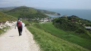 Lulworth Cove Durdle Door Walk, Jurassic Coast Walk, Dorset Walks In England, UK