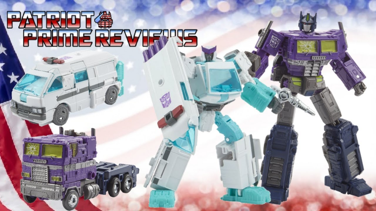 Patriot Prime Reviews Generations Selects Generations Selects Shattered Glass Optimus Prime & Ratchet