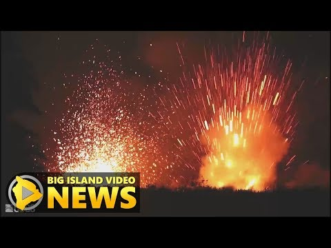 Hawaii Eruption: New Lava Arrives, Activity Increases (May 18, 2018)