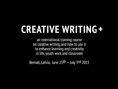 "Koolitus CLC ""Creative Writing+"""