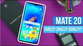 Huawei Mate 20 - Rozpakowanie i PIERWSZE WRAŻENIA /Mobileo [PL]