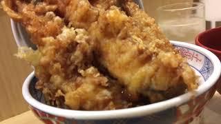 爆盛り海老天丼&明太子食べ放題の凄店を発見! Many Shrimps Bowl