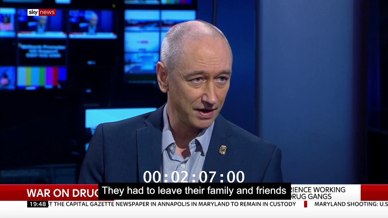 War On Drugs: Neil Woods talks to Sky News