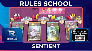 How to Play Sentient (Rules School) with the Game Boy Geek