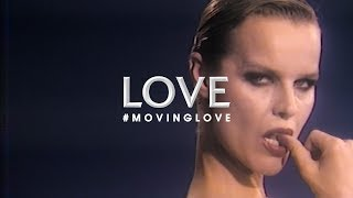 Supermodel Eva Herzigova on Connecting to the Camera | #MOVINGLOVE