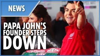 Papa John's founder John Schnatter resigns after racist outburst