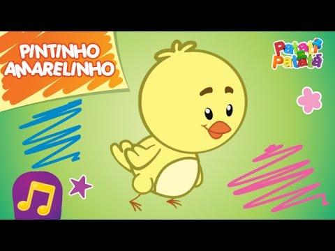 Patati Patatá - Pintinho Amarelinho (DVD O Melhor da Pré-escola)