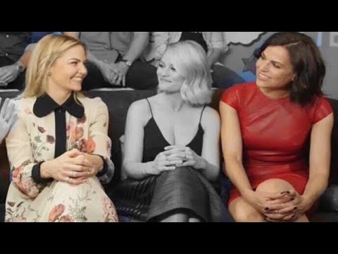 Lana parrilla and jennifer morrison