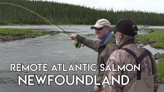 Topwater Salmon Fishing | Arluk Outfitters Newfoundland