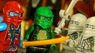 Лего Ниндзяго Аэроджитсу Поле Битвы 70590 + Мультики - Видео Обзор на русском - Lego Ninjago 2016