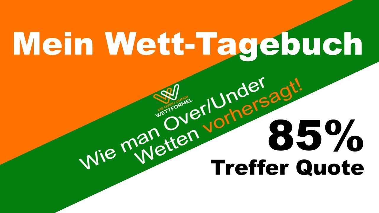 Over Under Wettformel