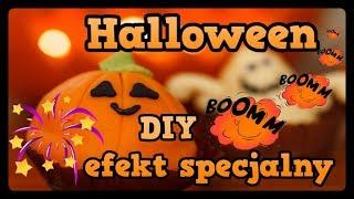 Halloween Diy-Dynia Efekty Specjalne #MajaCiesielskaMg