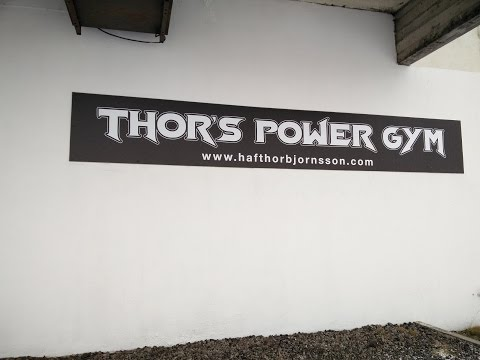 A visit to Thor's Power Gym in Iceland