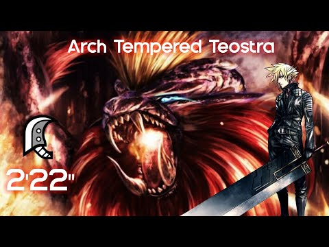 """[Monster Hunter World] 9☆ The Scorn of the Sun - Arch Tempered Teostra - 2'22"""" - Greatsword thumbnail"""