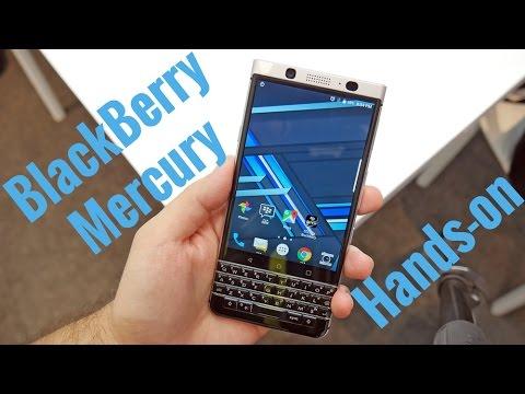 BlackBerry Mercury Hands-on