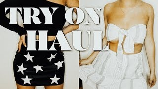 TRY ON HAUL | forever21, princess polly, more!