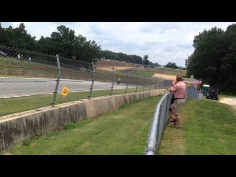 WERA at Road Atlanta back straight