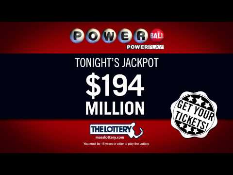 Massachusetts State Lottery - Powerball 194MM