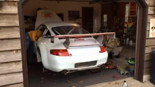 Porsche GT3 Cup startup and rev