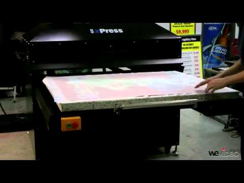 GO xPress 4048 Heat Press - How to Sublimate