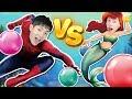蜘蛛人大戰美人魚!一起來看清涼的水上對決!小伶玩具 | Xiaoling toys