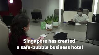 Singapore's safe bubble for business travelers