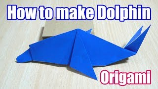 The Art Of Folding Paper. Dolphin